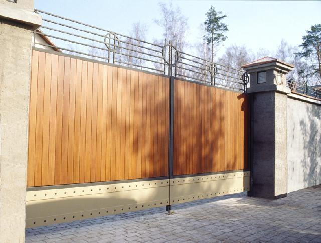 ворота СПб
